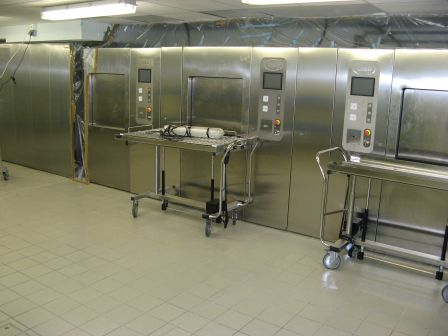 chargement autoclaves cisa